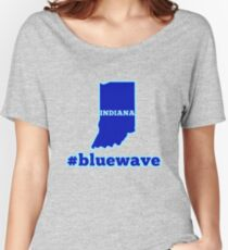 Blue Wave (Indiana) Women's Relaxed Fit T-Shirt