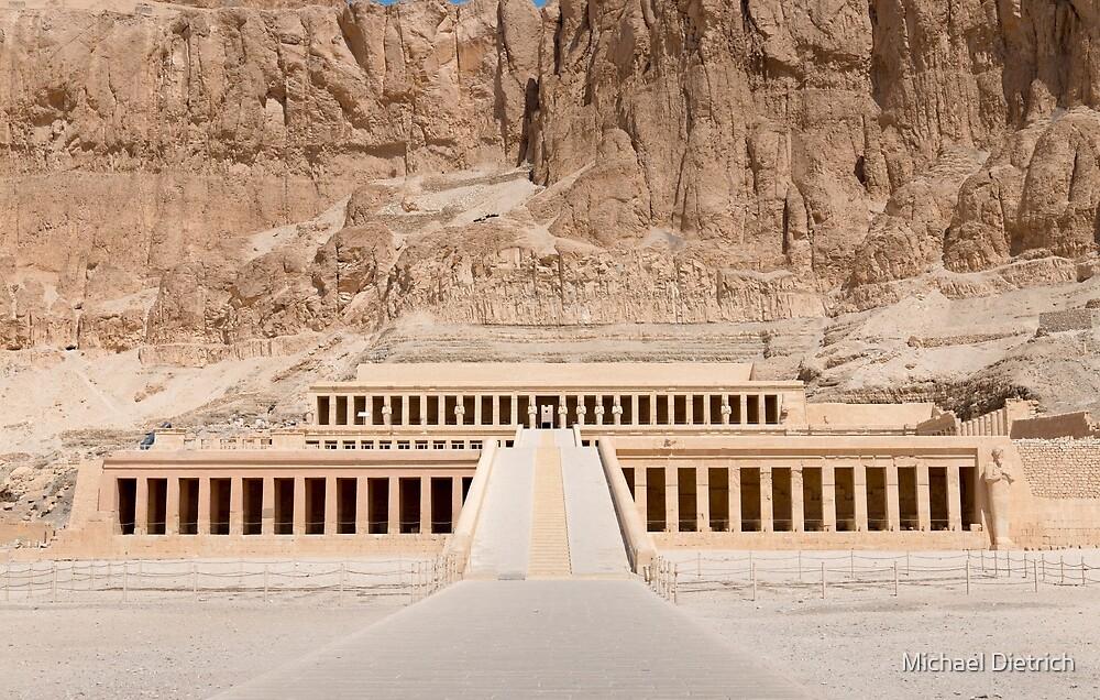 Hatshepsut Temple, Luxor by Michael Dietrich