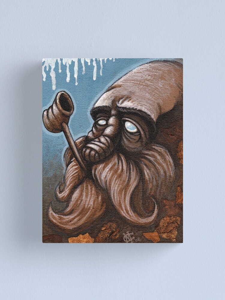 Alternate view of Old Salt Canvas Print