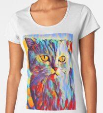 Cat Portrait Women's Premium T-Shirt
