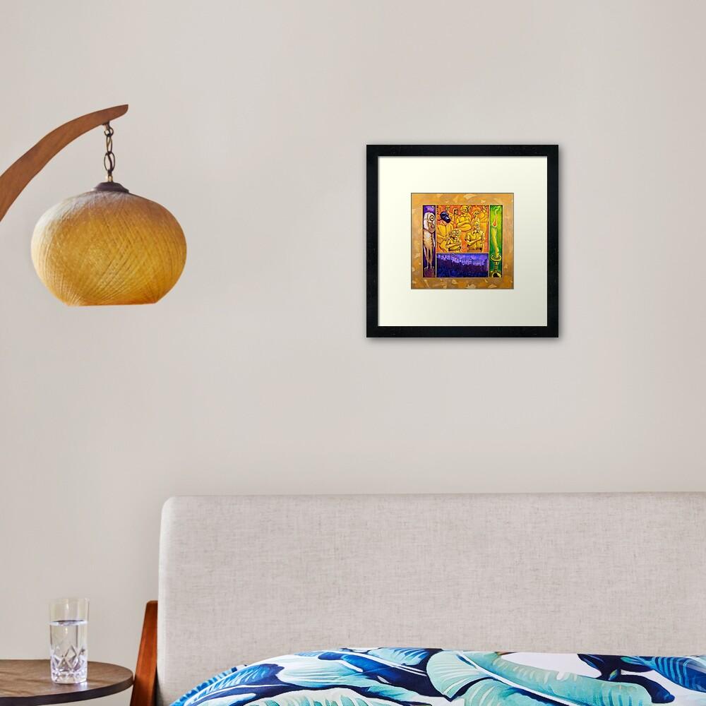 Alter Peace Framed Art Print