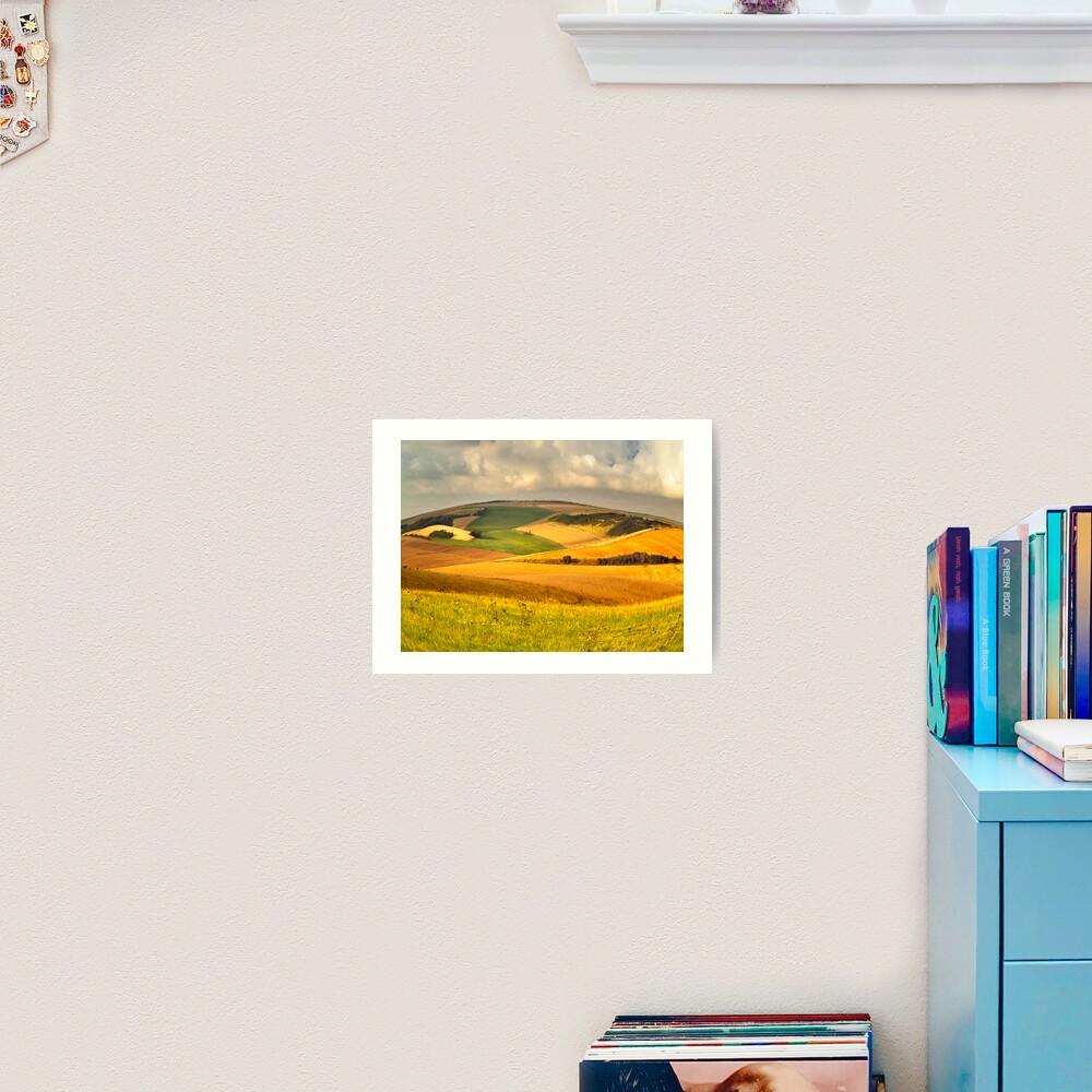 round landscape Art Print