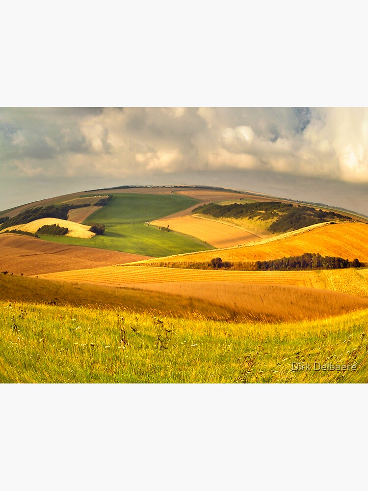 round landscape by Delbaere