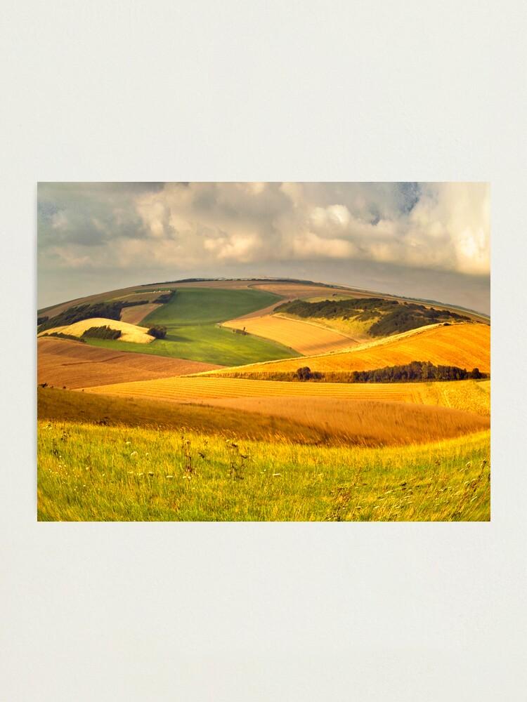 Alternate view of round landscape Photographic Print