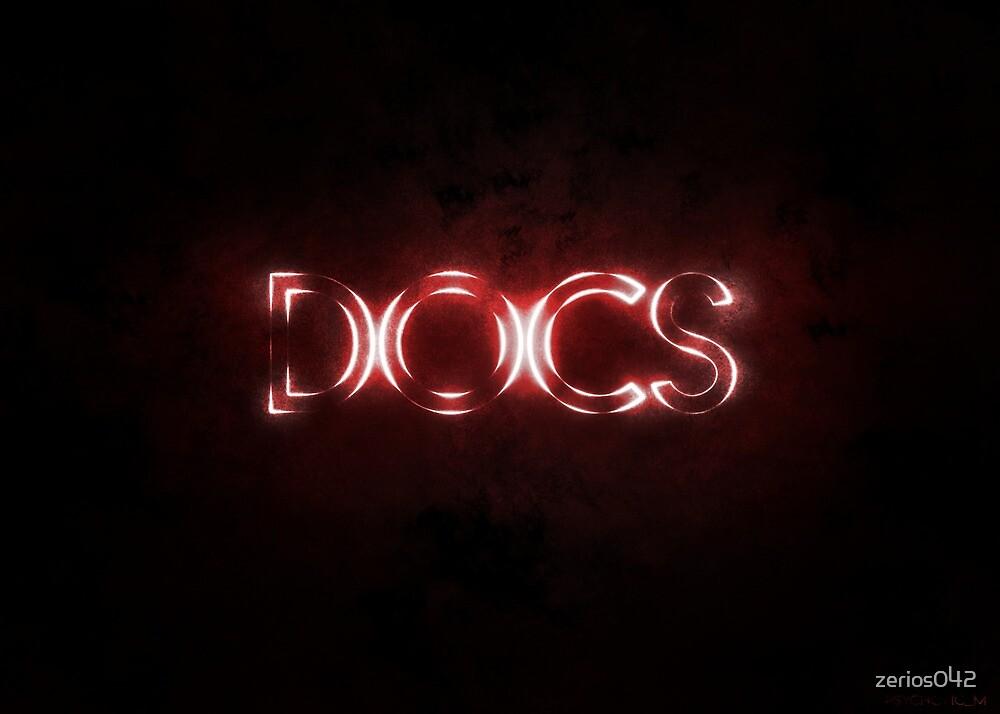 DOCS Neon Sign Art by zerios042