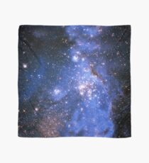 Blue Embrionic Stars Scarf