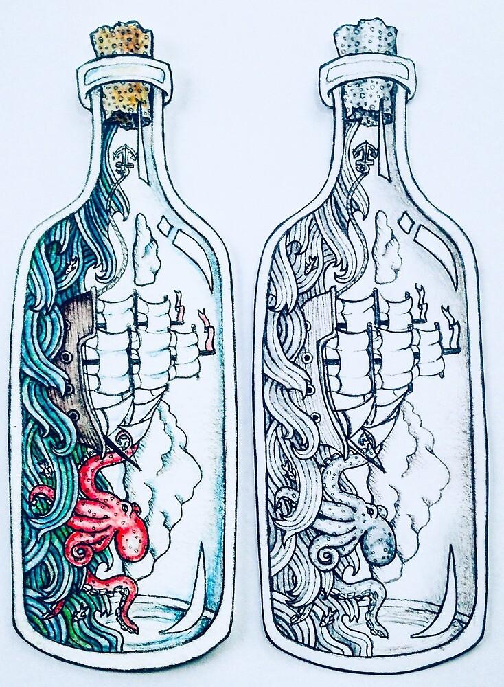 Ship in a Bottle by Adaire252