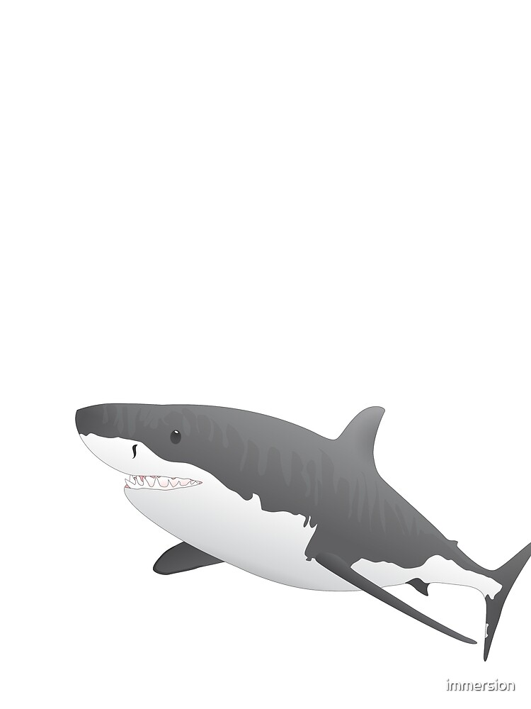 Great White Shark by immersion