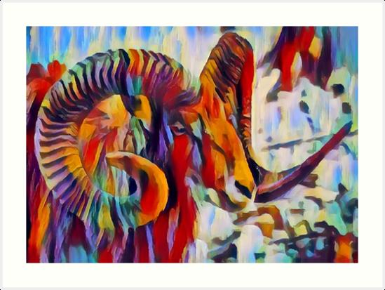 Wild Sheep by ChrisButler