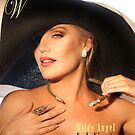 Carly in Big Hat for COVER by Julian Wilde