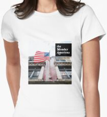 The Monday American: A History Podcast Women's Fitted T-Shirt