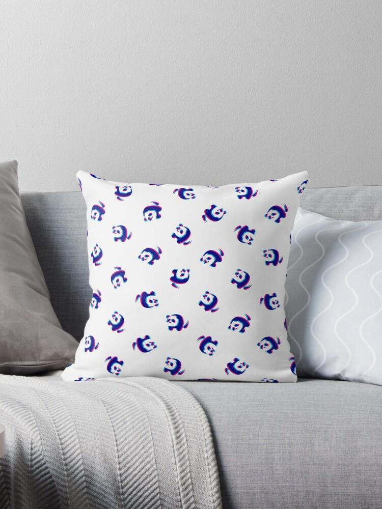 Bubblegum panda pattern by animinimal