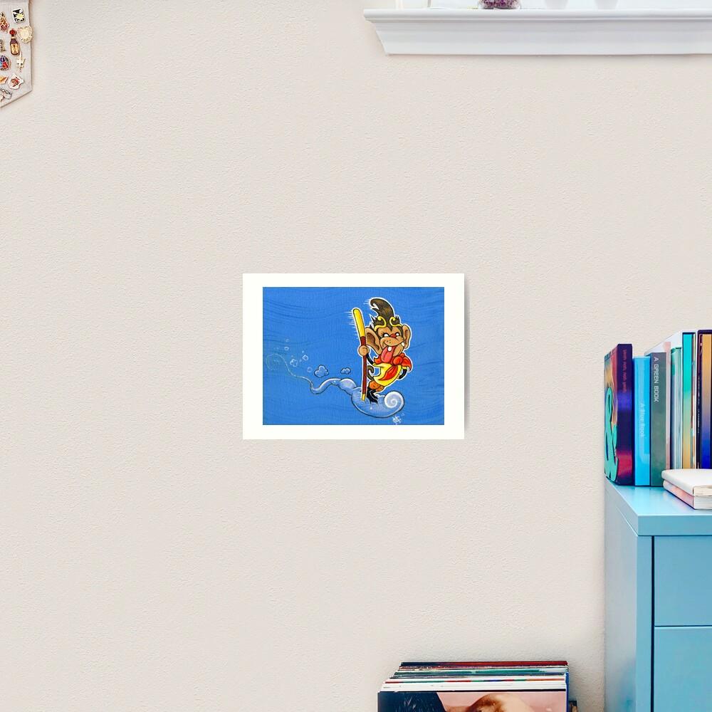 The Monkey King Art Print