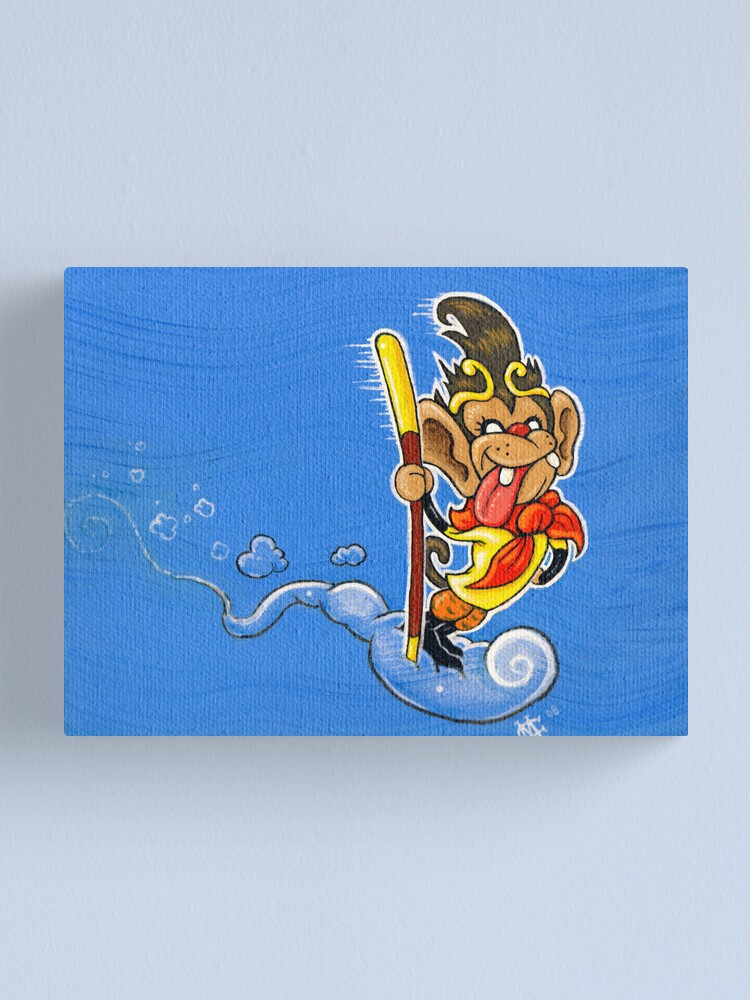 Alternate view of The Monkey King Canvas Print