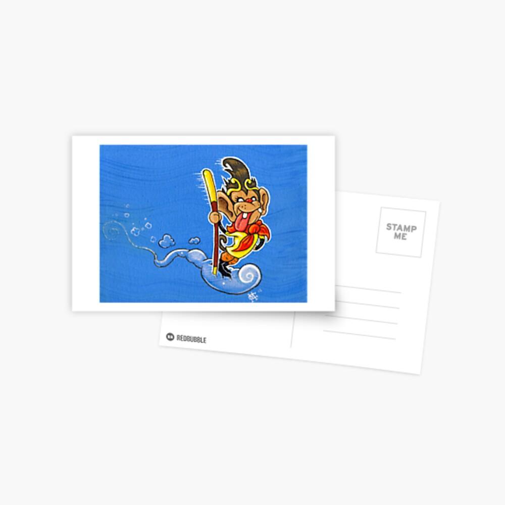 The Monkey King Postcard
