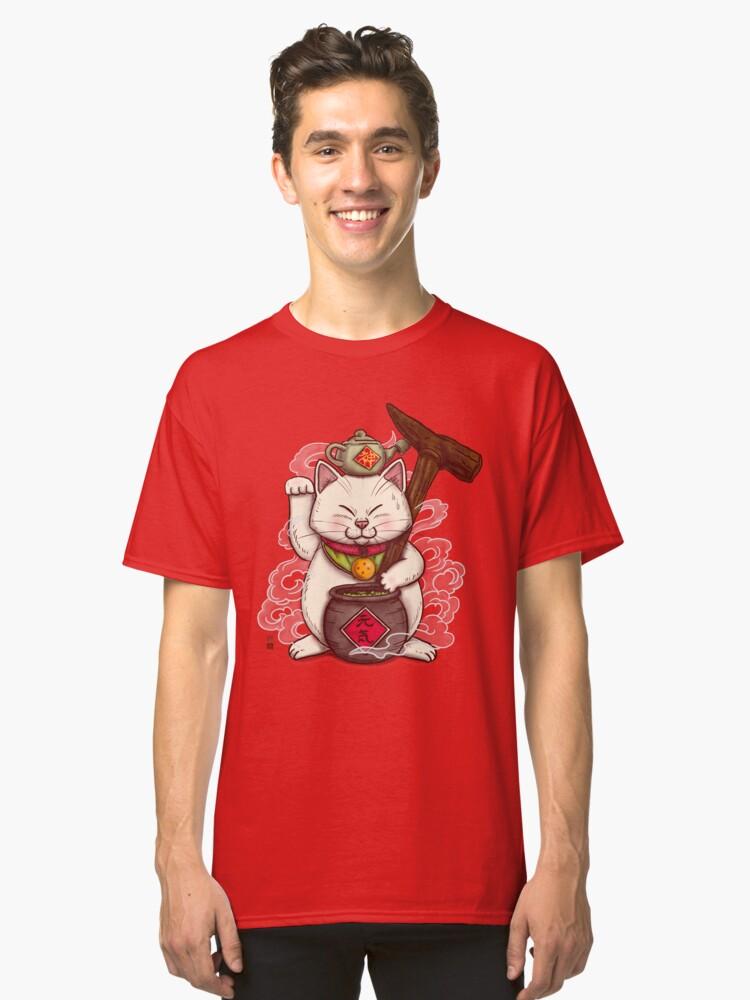 Maneki Senbyo Classic T-Shirt Front