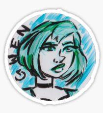 Gwen Sticker