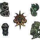 Creatures by DreddArt