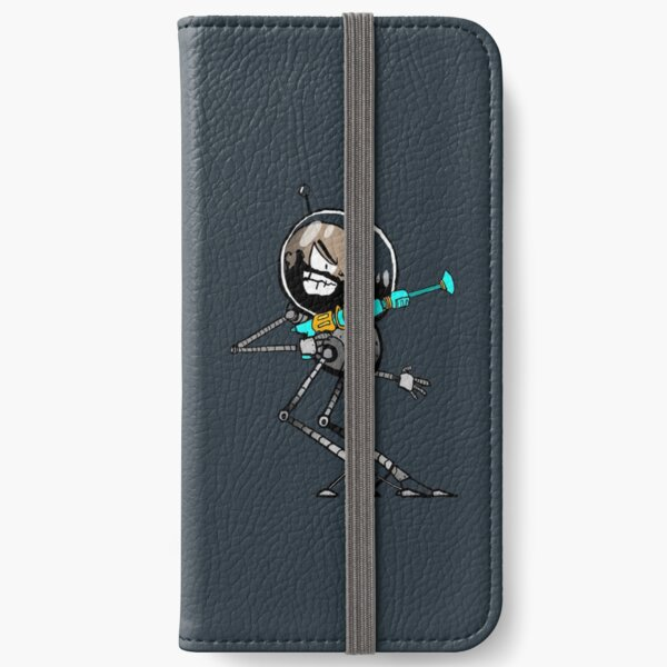Space Aaron Robot iPhone Wallet