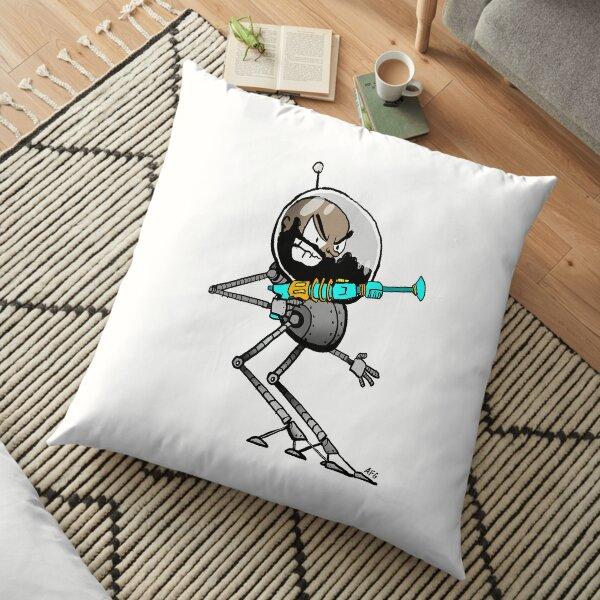 Space Aaron Robot Floor Pillow