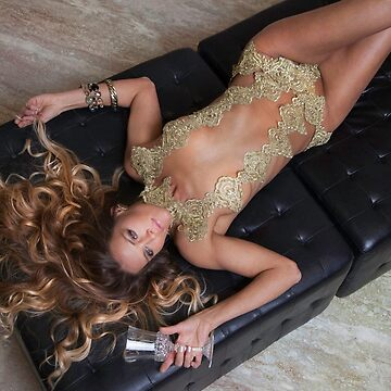 Staci in Gold for BB by julianwilde