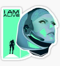 I am Alive Sticker