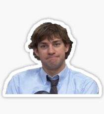 Jim Halpert - The Office Sticker