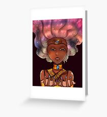 Lost In The Cosmos Greeting Card