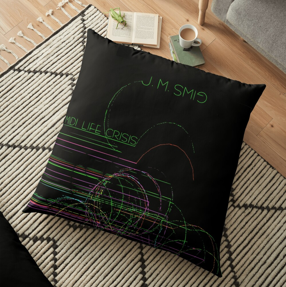 MIDI Life Crisis Floor Pillow