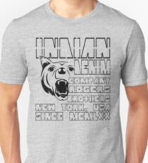 wolf indian denim co by rogers brothers T-Shirt