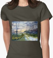 Springtime on Strensall Common Women's Fitted T-Shirt