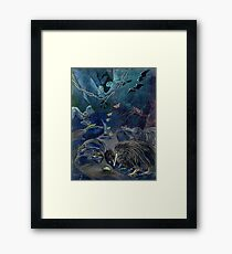 Kiwi, Bats, Morepork and More Framed Print