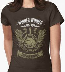 PUBG Winner Winner Chicken Dinner Women's Fitted T-Shirt