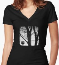 Lunar - TTV Women's Fitted V-Neck T-Shirt
