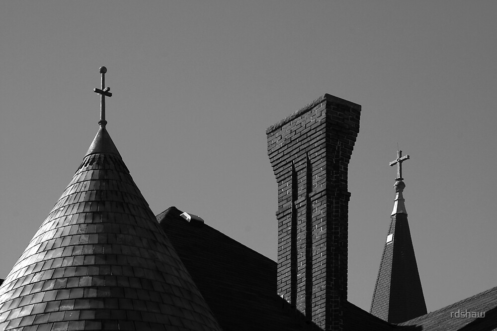 Spires and Chimney by rdshaw