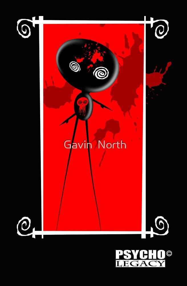 PSYCHO LEGACY CARD 3 by Gavin  North
