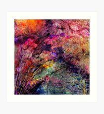 Qualia's Bridge R Art Print