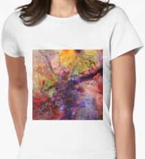 Qualia's Bridge L Women's Fitted T-Shirt
