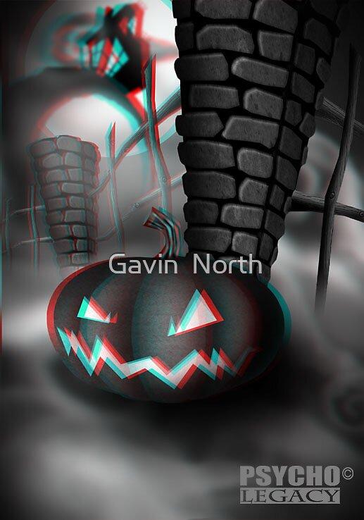 PSYCHO LEGACY CARD % by Gavin  North