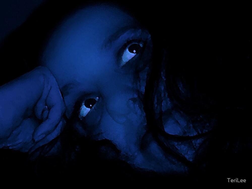 Rêverie dans le bleu by TeriLee