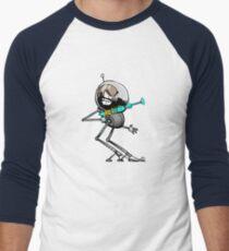 Space Aaron Robot Men's Baseball ¾ T-Shirt