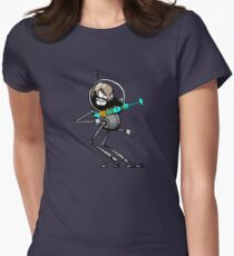 Space Aaron Robot Fitted T-Shirt
