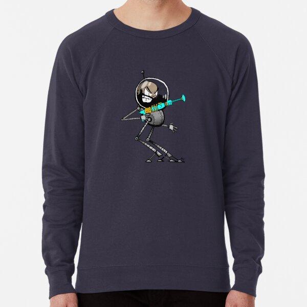 Space Aaron Robot Lightweight Sweatshirt