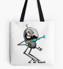 Space Aaron Robot Tote Bag