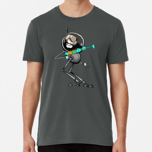 Space Aaron Robot Premium T-Shirt