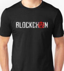 Blockchain anarchist Unisex T-Shirt