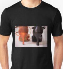 High heels dance shoes Unisex T-Shirt