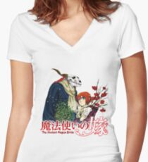 Ancient Magus Bride Women's Fitted V-Neck T-Shirt
