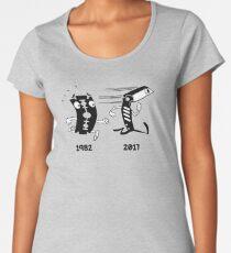 Bladerunner Movie Parody Graphic Women's Premium T-Shirt