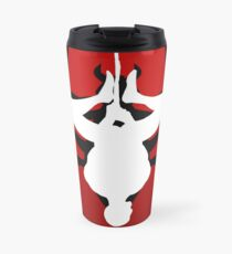 Reverse silhouette Spidey Travel Mug